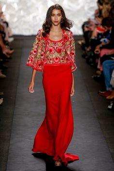 Naeem Khan Spring 2015 Ready-to-Wear Fashion Show