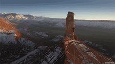 BlazePress — Slacklining above Utah's desert.