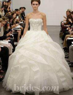 Vera Wang Wedding Dress. Who doesn't want to be a princess?!