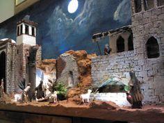 Presepi artigianali & diorami di Giuseppe Barreca: PRESEPE 2012: PALESTINESE