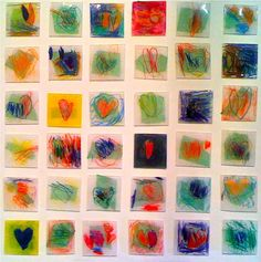shrinky dink Jim Dine-how cool would this be as a choice for and Art History + Studio Time project!