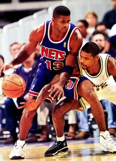 Gill And Sprewell Go Toe To Toe, '97.