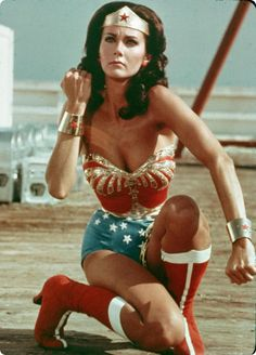 Wonder Woman -- If only the spinning would work! . . . .