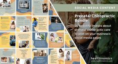 ❤️ SOCIAL MEDIA CONTENT ❤️ 🤰🏽⚕️Prenatal Chiropractic Bundle🤰🏽⚕️ - One of the most important times for a woman to receive chiropractic care is during her pregnancy. From the moment of conception, a woman's body goes through a series of changes. Back, pelvic and postural changes can cause unwanted pain and discomfort. #PrenatalChiropractic #WilsonTechnique #Prenatal #Pregnancy #Pregnant Pregnancy Back Pain, First Time Pregnancy, Pregnancy Labor, Chiropractic Treatment, Chiropractic Wellness, Social Media Images, Social Media Content, Webster Technique