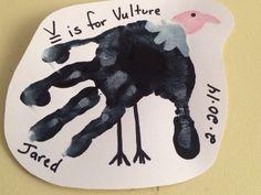 Handprint Vulture