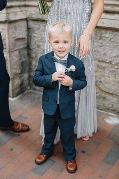 handsome little ring bearer