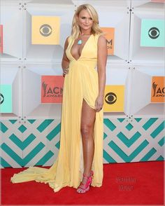 Miranda Lambert at 2016 ACM Awards with a pistol in her high heels holster! Academy Of Country Music, Country Music Awards, Country Music Artists, Country Women, Country Girls, Miranda Lambert Photos, Country Female Singers, Nashville, Beautiful Celebrities