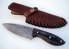 DAMASCUS STEEL CUSTOM HAND MADE HUNTING KNIFE, BEAUTIFULL KNIFE #BestSteelWarrior