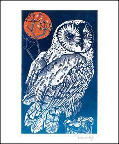 'Barn Owl' by Olivia Clifton Bligh (A531) (NEW)