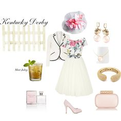 """""""Kentucky Derby Style"""" by elisailana on Polyvore"""