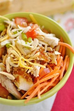 Create your own delicious and nutritious Yummy Bowl at home.