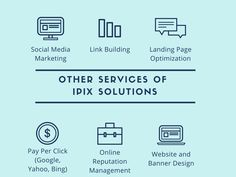 With SEO Services we also offer other digital marketing services from Website development,Mobile app development, PPC and more. #ipixsolutions #seoagency #india #seo #ppc