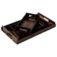 iWoodesign Ziricote trays