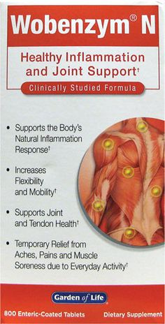 Win a Bottle of Clinically Studied Wobenzym® N: Promotes Joint Health & More