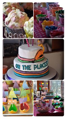 Oh the Places You'll Go - Party Food
