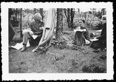 Frida Kahlo, Leon Trotsky & Natalia Sedova