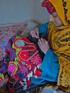 Aiming to revive and sustain the inherent hand skills of the Gujjar and Bakarwal community, the Shepherd Crafts project located at Langanbal village near Pahalgam in Kashmir is dedicated to documentation, design and retail of their handmade products. The project provides an alternate source of income and access to health care to the women beneficiaries.