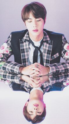 jin ♡ (truly a god he is wrecking mee THIRD GUY FROM THE LEFTT)