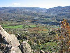 El Otoño en el Valle del Jerte es incluso más bello que la temporada de floración. Esta foto está hecha desde la carretera que une el Torno y Rebollar.