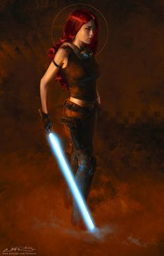 Star Wars: Mara Jade - Created by Oliver Wetter