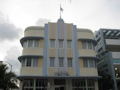 Miami South Beach Art Deco