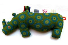 Teething and Tactile Rhino by Mathilde & Co. on hellopretty.co.za