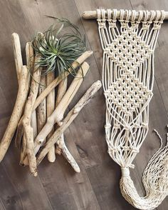 Driftwood prep for this Saturday's workshop! We will be making different variations of these rad wallhanging + plant hanger combos! Thank you for hosting! Ps there are still spots open if you are interested! Link in bio. Driftwood, Plant Hanger, Nativity, Macrame, Workshop, Plants, How To Make, Ps, Link