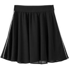 Plus Size Chiffon A Line Skirt (€17) ❤ liked on Polyvore featuring skirts, chiffon a line skirt, knee length a line skirt, plus size chiffon skirt, womens plus size skirts and chiffon skirts