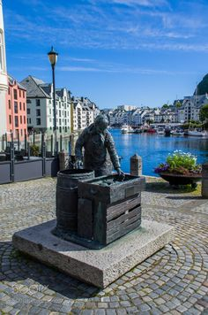 The Herring Woman by chriswtaylor from http://500px.com/photo/200086481 - Alesund Norway.. More on dokonow.com.