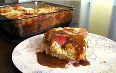 Easy comfort food: Strawberry bread pudding recipe