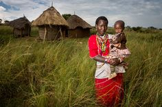 A Maasai Mother and Child. www.kilgoris.org