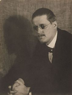 James Joyce (Getty Museum) by Man Ray