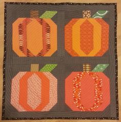 Looking for your next project? You're going to love Pumpkin Block by designer MustLoveQuilts. - via @Craftsy