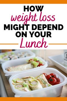 If you're looking for weight loss tips, you might want to start by checking out your lunch!  Learn how to build a healthy lunch that can help support your weight loss goals and diet plan.