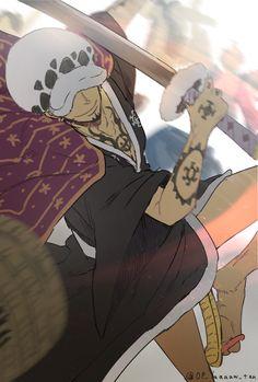 One Piece Comic, One Piece Fanart, One Piece Anime, Trafalgar D Water Law, The Pirate King, 0ne Piece, My Big Love, Good Manga, Cartoon Characters