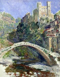 Claude Monet - The Castle of Dolceacqua, 1884                                                                                                                                                                                 Mehr