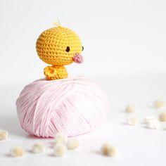 Petit poussin au crochet pour préparer Pâques | Vivyane, du bout des doigts