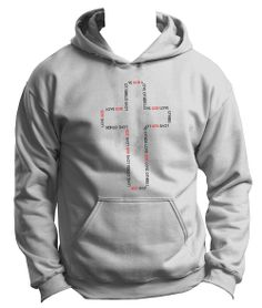 Peace Be With U - Love God Love Others - Christian Hoodie, $34.95 (http://www.peacebewithu.com/love-god-love-others-christian-hoodie/)