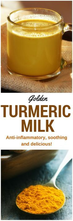 Turmeric Milk A cup before bedtime contains anti-inflammatory, anti-oxidant, and circulation-boosting properties in a warm, deliciously soothing drink. Detox Drinks, Healthy Drinks, Healthy Snacks, Healthy Recipes, Healthy Bedtime Snacks, Healthy Nutrition, Anti Inflammatory Drink, Inflammatory Foods, Superfood