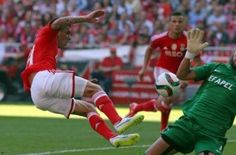 Benfica routed Academica 5-1 on Saturday in the 28th round of the Portuguese league at Luz Stadium in the capital, a media report said on Sunday. Benfica dominated throughout the match and made a 3-0 lead in the first half. Brazilian midfielder Jardel scored the first goal with a header only eight minutes after the start following a pass by...  Read More