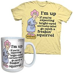 Aunty Acid proves that you actually do have a sense of humor in the morning. $21.98