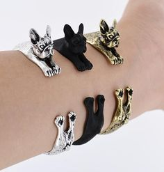 Check out this new French Bulldog Br... we just got in!  See more here: http://www.therealbigdeal.com.au/products/french-bulldog-bracelet?utm_campaign=social_autopilot&utm_source=pin&utm_medium=pin