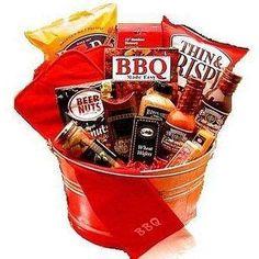 BBQ theme basket