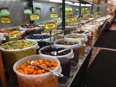 Olive Bar, Upper West Side Fairway Market, NYC