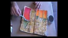 'When was the last time...' art journaling, via YouTube.