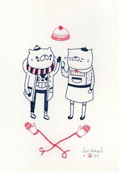 #cats #cartoons #romance #cute