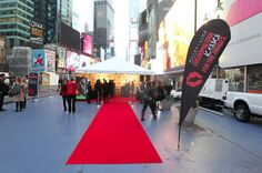 Cosmo and Maybelline New York took over Times Square for the fourth annual Maybelline Kisses for the Troops event. Women could test the best new Maybelline lipstick shades, pucker up on the red carpet, and score free beauty loot—all while supporting USO.org. #kissesforthetroops
