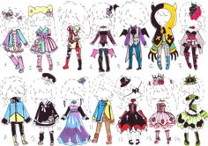 Guppie-Adopts on DeviantArt Drawing Skills, Drawing Reference, Kawaii Drawings, My Drawings, Character Outfits, Character Art, Chibi, Kimono Design, Anime Dress