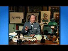 Walt Disney's last filmed appearance (1966) Walt explains dimension and historic video production