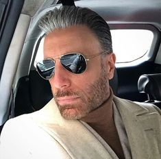 It's a long and bumpy journey. It takes you places both good and bad you'd never thought you'd go. Stay looking towards where the light is… Mirrored Aviator Sunglasses, Mirrored Aviators, Mens Sunglasses, Hair And Beard Styles, Hair Styles, Sharp Dressed Man, Haircuts For Men, Hair Pieces, Gorgeous Men